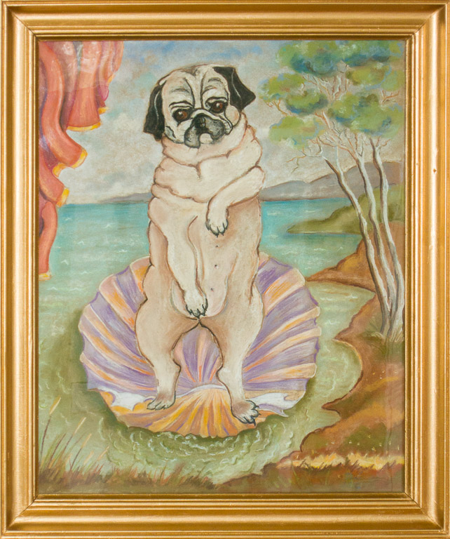 Botticelli's Pug