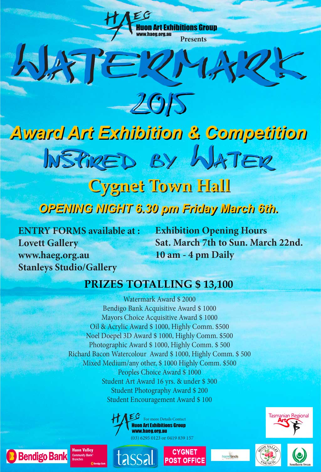Watermark 2015 Poster