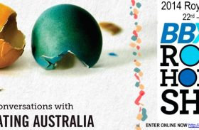 HAEG 2014 AGM reminder, Hobart show, consultation session with Creating Australia