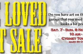 Preloved art sale reminder, odds and ends.