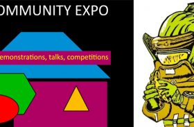 CRAG Linocut workshop, Cygnet Community Expo
