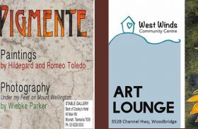 """Westwinds Art Lounge and """"Pigmente"""""""