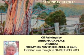"""Anna Maria Place: """"A Sunday Stroll"""""""