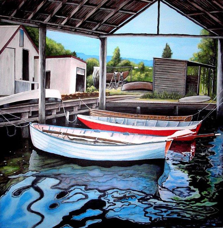 Wooden Boat Centre Franklin - 2009