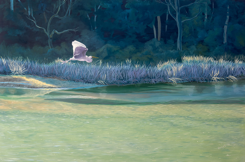 Hazel Howie - Egret