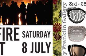 Art Farm Bonfire night and Shades of Clay